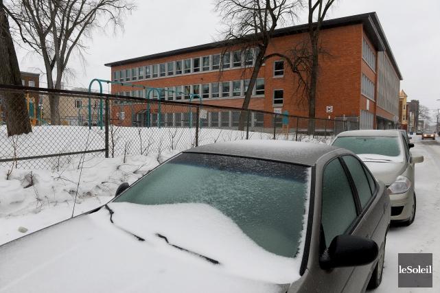 Plusieurs écoles de Québec, comme l'école Marguerite-Bourgeoys, sont... (Le Soleil, Erick Labbé)