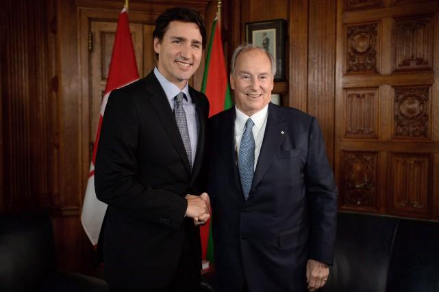 Le premier ministre du Canada Justin Trudeau et... (Photo Sean Kilpatrick, archives La Presse canadienne)