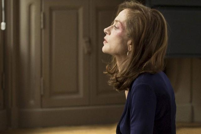 Isabelle Huppert offre une performance mémorable dans Elle,... (Photo courtoisie)