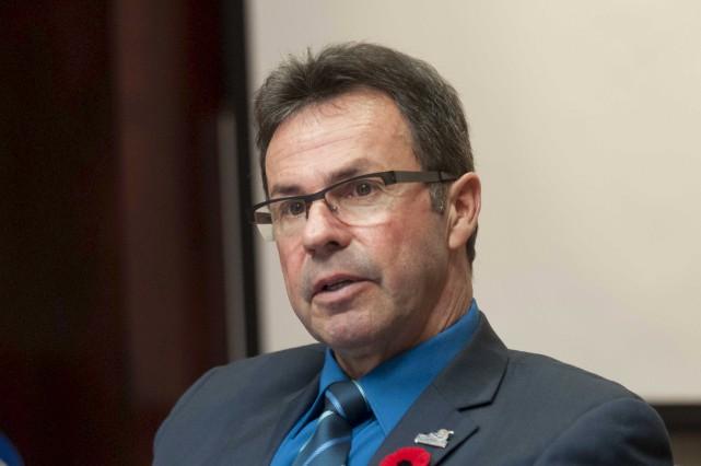 Le maire de Shawinigan, Michel Angers.... (Sylvain Mayer)