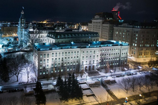 L'entente entre Québec et ses cadres est intervenue... (Photo Olivier Jean, Archives La Presse)