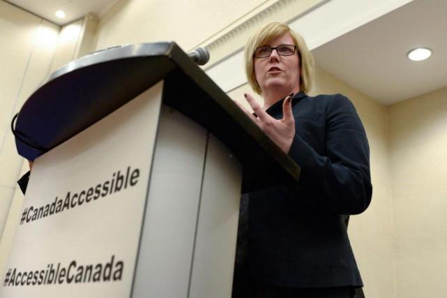 La ministre fédérale des Sports, Carla Qualtrough.... (PhotoJustin Tang, archives La Presse canadienne)