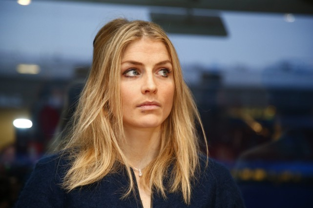 La fondeuse norvégienne Therese Johaug a subi un... (Photo Heiko Junge, AFP)