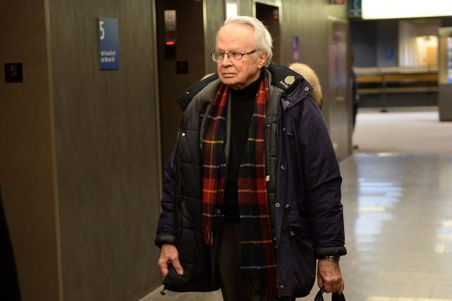 Jacques Corriveau à son arrivée à la cour... (Paul Chiasson, PC)