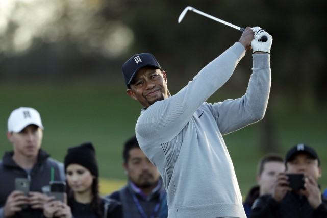 Tiger Woods... (Photo Gregory Bull, AP)