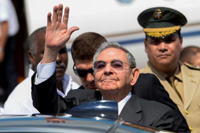 Raul Castro... (PHOTO AFP)