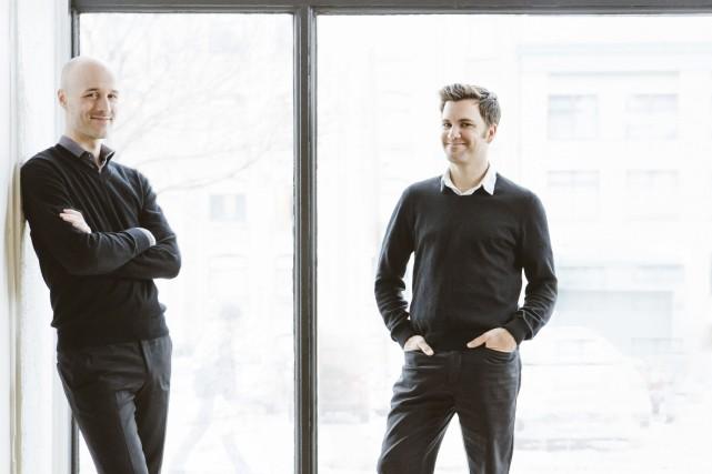 Régis Lechasseur et Olivier Bourgeois... (Adrien Williams)