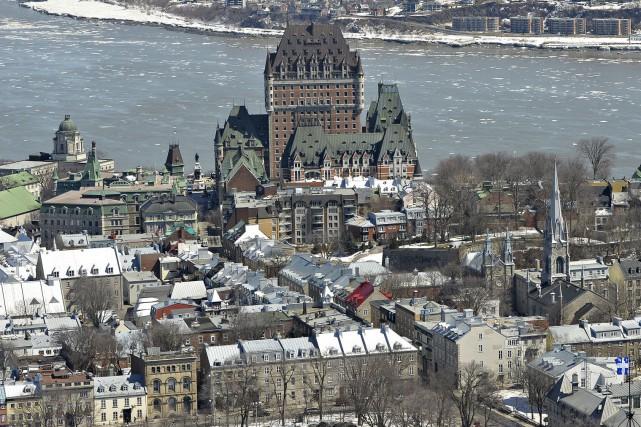 Québec est encore largement perçue comme «une ville de fonctionnaires» dans... (Le Soleil, Pascal Ratthé)
