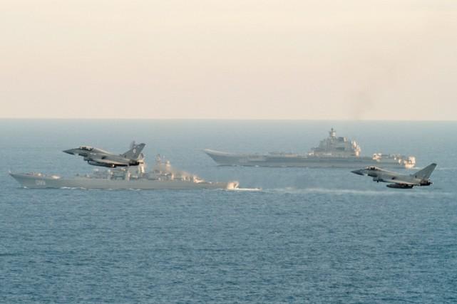 La flotte russe a été placée sous la... (REUTERS)