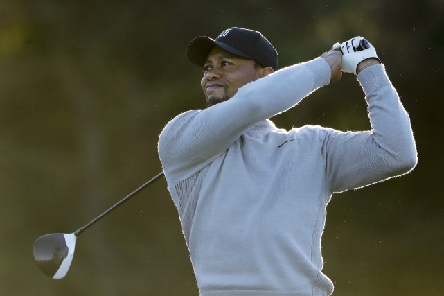 Maintenant âgé de 41 ans, Tiger Woods en... (Associated Press)
