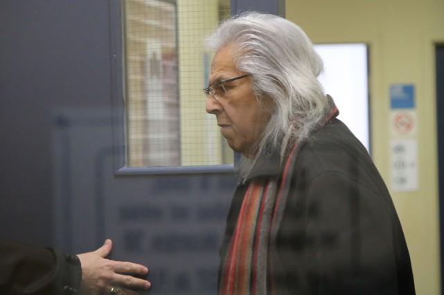 Marcel Boivin a plaidé coupable à l'accusation d'agression... (Audrey Tremblay, Le Nouvelliste)