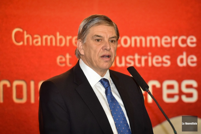 Le vice-président de direction chez Kruger, Daniel Archambault,... (François Gervais, Le Nouvelliste)
