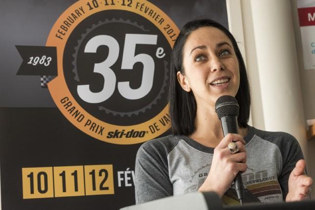 Marie-Pier Lemay est la directrice générale du Grand... (Spectre Média, Frédéric Côté)