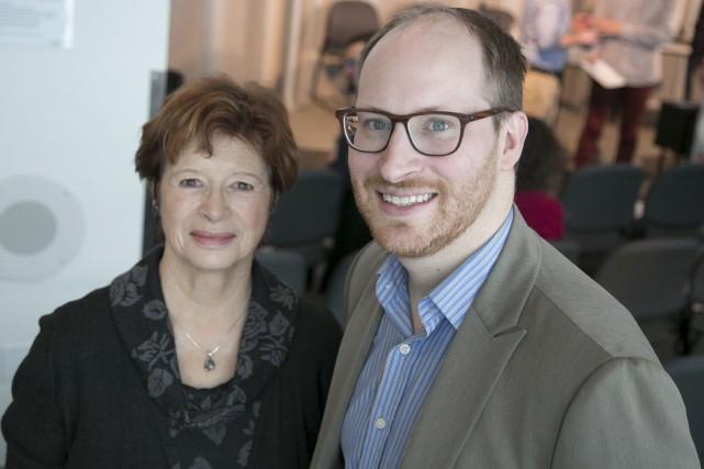 L'ex-ministre de l'Éducation Marie Malvoy et le professeur... (Spectre Média, René Marquis)