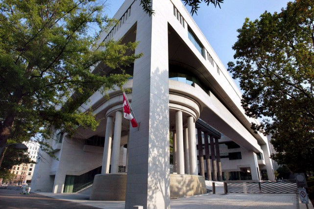 L'ambassade du Canada à Washington... (Photothèque Le Soleil)