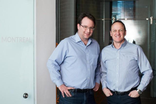 Fondée en 2005 par Laurent Simoneau (à gauche),... (Photo Edouard Plante-Fréchette, La Presse)
