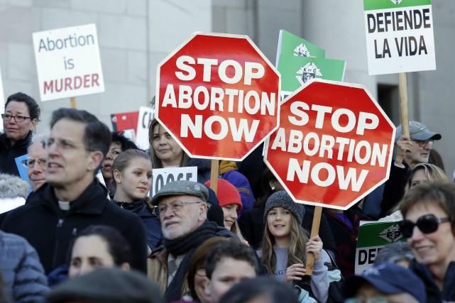 Une «Marche pour la vie» à Washington se... (AP)