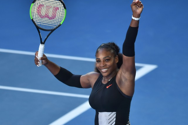 Serena Williams a mis fin à la belle aventure... (Photo Peter Parks, AFP)