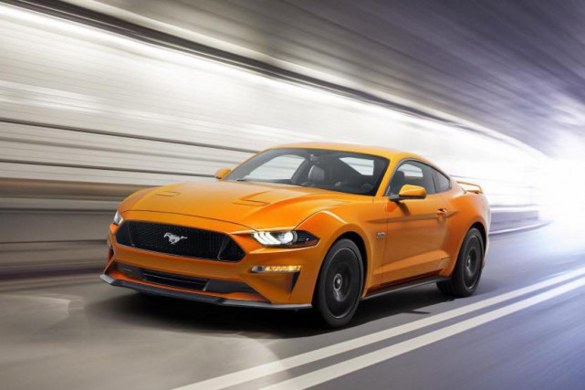 La Ford Mustang 2018... (Photo fournie par le constructeur)