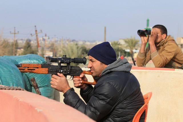 Les forces irakiennes ont évincé les djihadistes de... (PHOTO Alaa Al-Marjani, REUTERS)