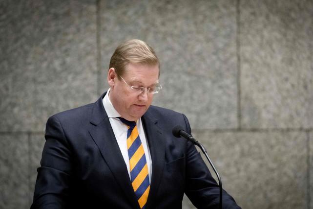 «Je vais maintenant remettre ma démission à sa... (Photo Bart Maat, Agence France-Presse)