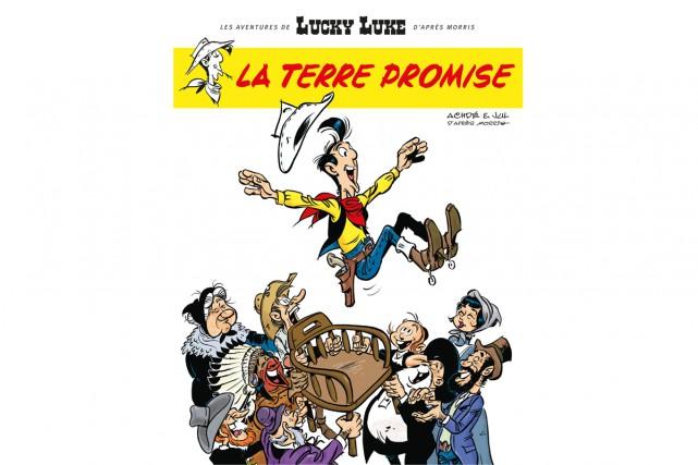 Lucky Luke, La terre promise (Lucky Comics) de... (CAPTURE D'ÉCRAN)
