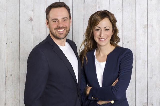 Sébastien Jacques et Julia Gagnon... (Photo fournie)
