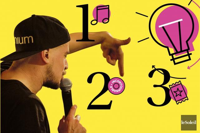 1. Toute la scène au hip-hop (Infographie Le Soleil)