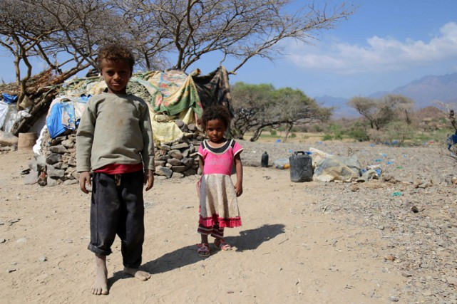 La situation est particulièrement alarmante pour les enfants:... (PHOTO AFP)