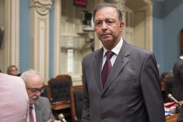Sam Hamada quitté ses fonctions ministérielles au printemps... (Photo Jacques Boissinot, archives La Presse canadienne)