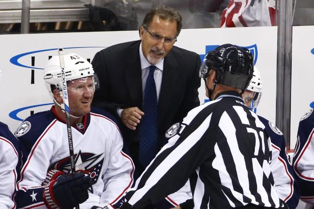 L'entraîneur JohnTortorella a indiqué dans un communiqué qu'une... (Photo Gene J. Puskar, archives Associated Press)