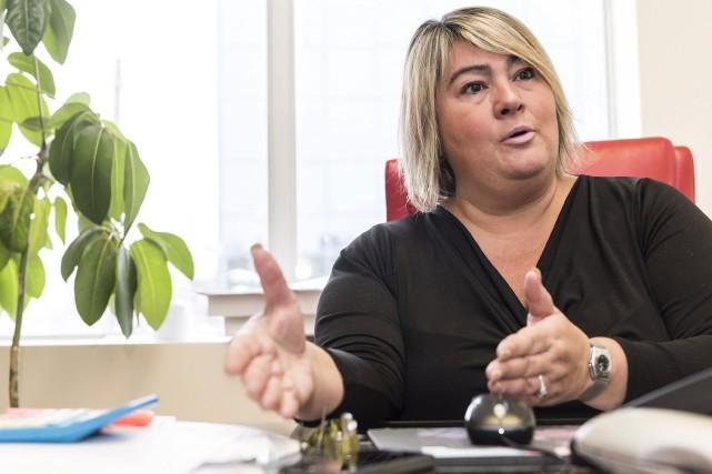 La femme d'affaires Hélène Gravel a surmonté des... (Spectre Média, Jessica Garneau)