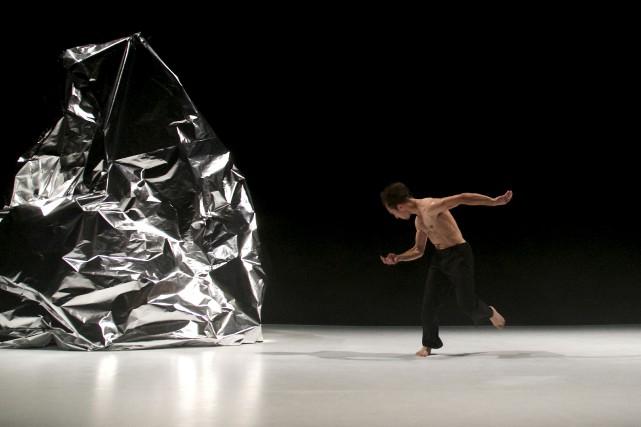 Dans Data, sa première oeuvre chorégraphie, Marcel Roque... (Marilène Bastien)