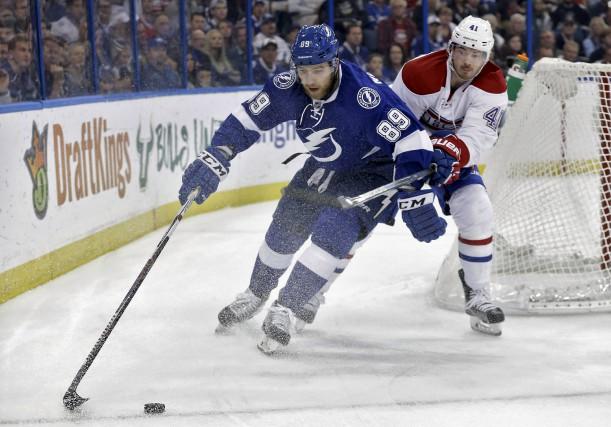 Acquis jeudi du Lightning, Nikita Nesterov fera ses... (Archives AP)