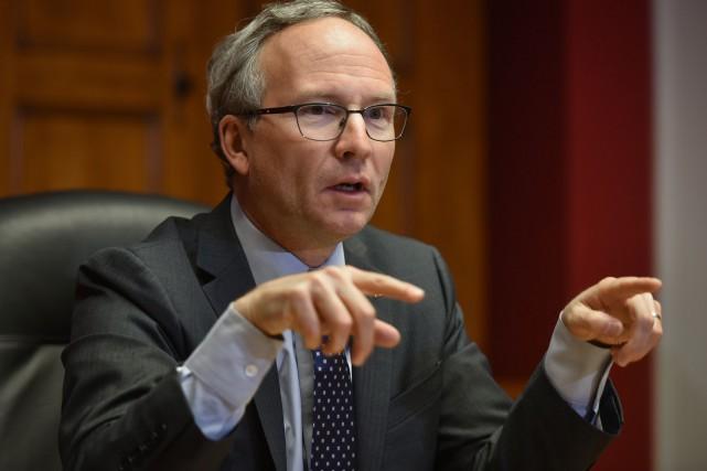 Le ministre des Affaires municipales et de l'Occupation... (François Gervais, Le Nouvelliste)
