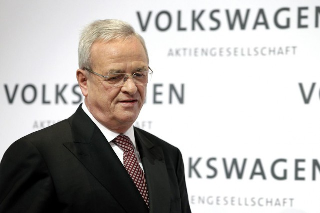 L'ex-patron de Volkswagen Martin Winterkorn.... (Photo Michael Sohn, archives AP)