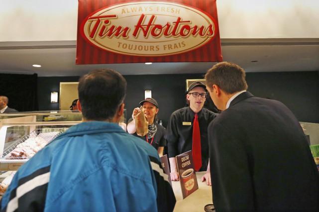 Restaurant Brands Internationalest propriétaire des chaînes Tim Hortons,... (PHOTO PETER JONES, ARCHIVES REUTERS)
