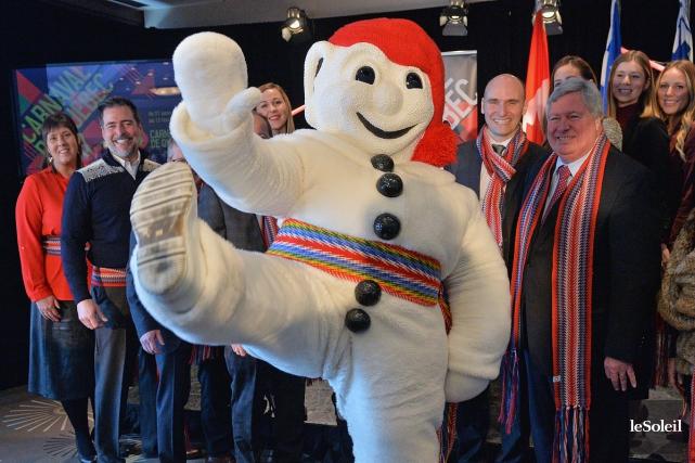 Le Carnaval de Québec, une célèbre activité hivernale qui prend l'affiche... (Photo Patrice Laroche, Le Soleil)
