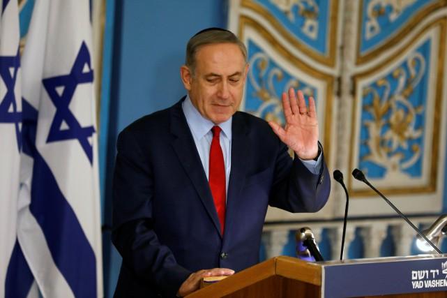 Benjamin Netanyahu fait l'objet depuis fin 2016 de... (Photo Amir Cohen, Reuters)