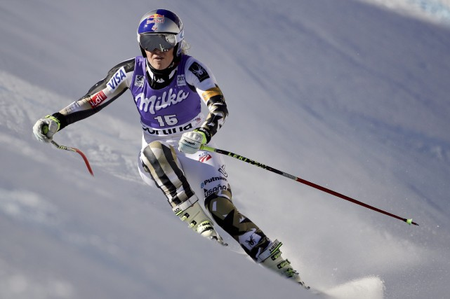 Lindsey Vonn... (Photo Domenico Stinellis, AP)