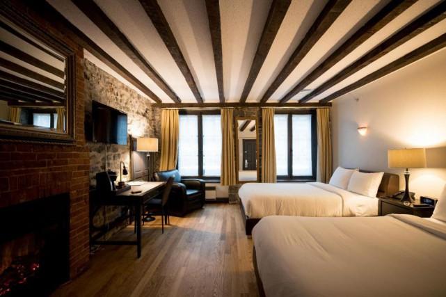 L'hôtel Épik est le point de chute idéal... (Photo Marco Campanozzi, La Presse)