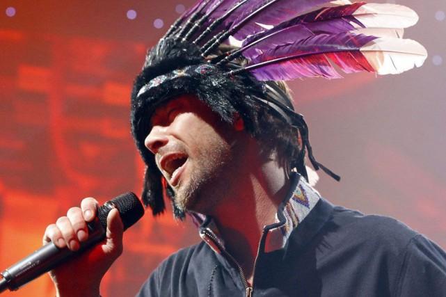 Jay Kay, chanteur du groupe Jamiroquai.... (PHOTO ARCHIVES AP)
