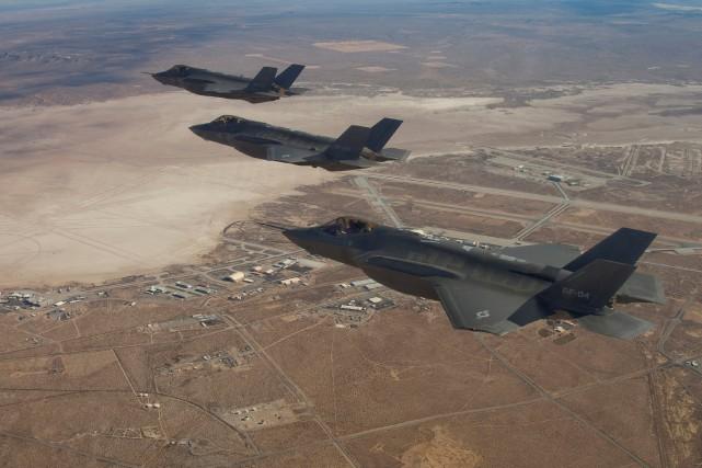 Le F-35, construit par Lockheed Martin est considéré... (PHOTO REUTERS/Lockheed Martin)