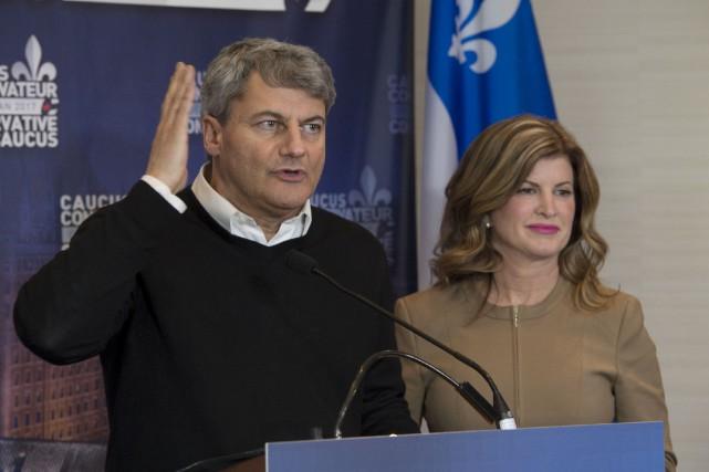 Le député de Louis-Saint-Laurent, Gérard Deltell (ici aux... (La Presse canadienne, Jacques Boissinot)