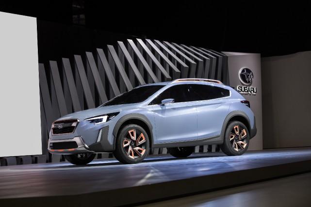 Le prototype Subaru XV Crosstrek préfigure la prochaine... (Photo : subaru)