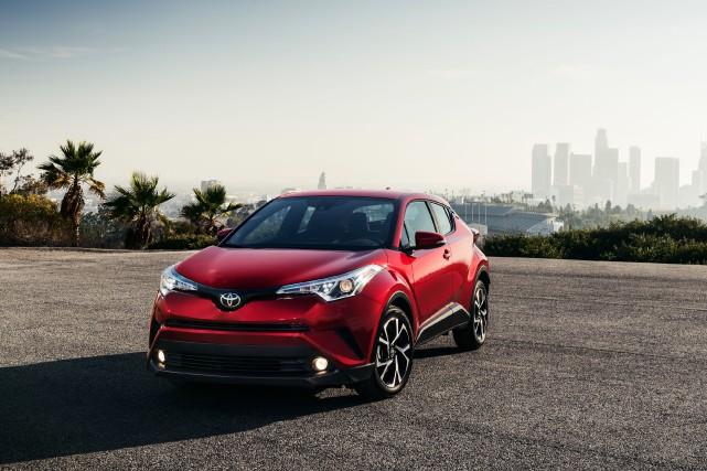 Le Toyota C-HR est un VUU.... (Photo : Toyota)