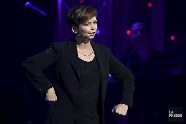 Claudine Mercier entame un cinquième spectacle solo où... (Bernard Brault, La Presse)