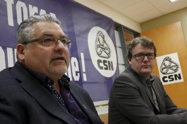 Denis Beaudin, président du Conseil central des syndicats... (Spectre Média, René Marquis)