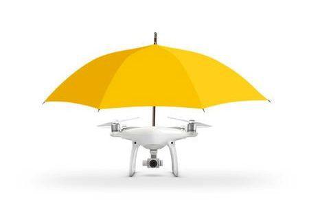 La nouveauté: le drone parapluie (Tirée du site www.dronesdirect.co.uk)