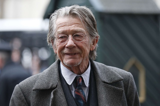 L'acteur anglais John Hurt... (Photo Suzanne Plunkett, archives REUTERS)